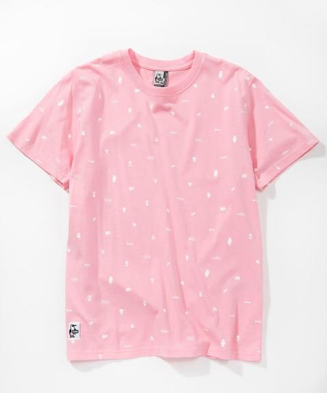 リテイナーパターンTシャツ(トップス/Tシャツ)[レディース]