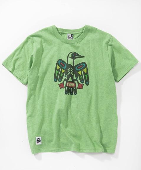 トーテムポールTシャツ(トップス/Tシャツ)[レディース]