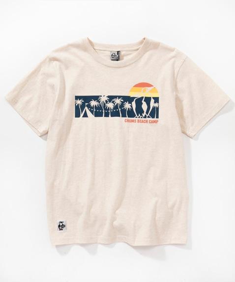 サンセットキャンプTシャツ(トップス/Tシャツ)[レディース]