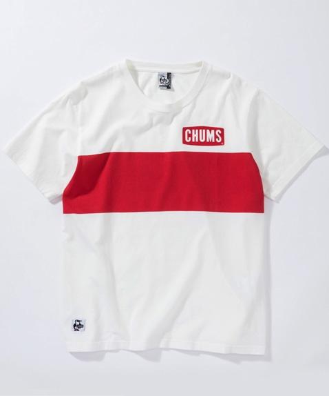 ティックラインプリントTシャツ(トップス/Tシャツ)[レディース]