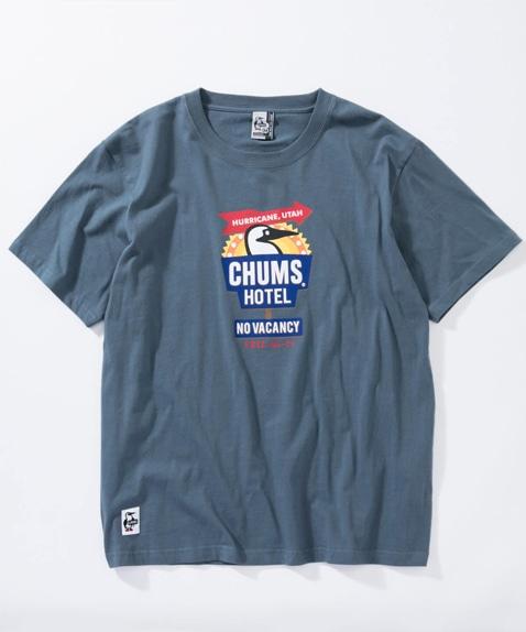 チャムスホテルTシャツ(トップス/Tシャツ)[レディース]
