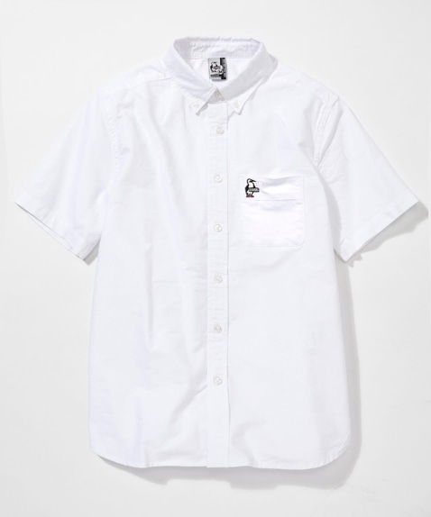チャムスオックスシャツ半袖