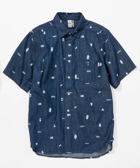 ハッピーキャンプシャツ