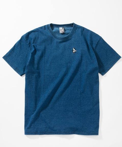 ビッグシルエットレディースTシャツインディゴ(トップス/Tシャツ)[レディース]