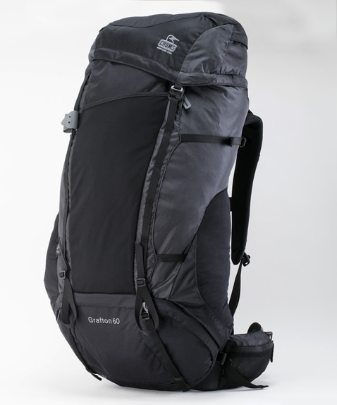 グラフトン60ブラック(リュック/デイパック)